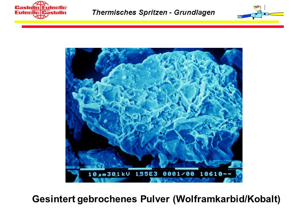 Gesintert gebrochenes Pulver (Wolframkarbid/Kobalt)