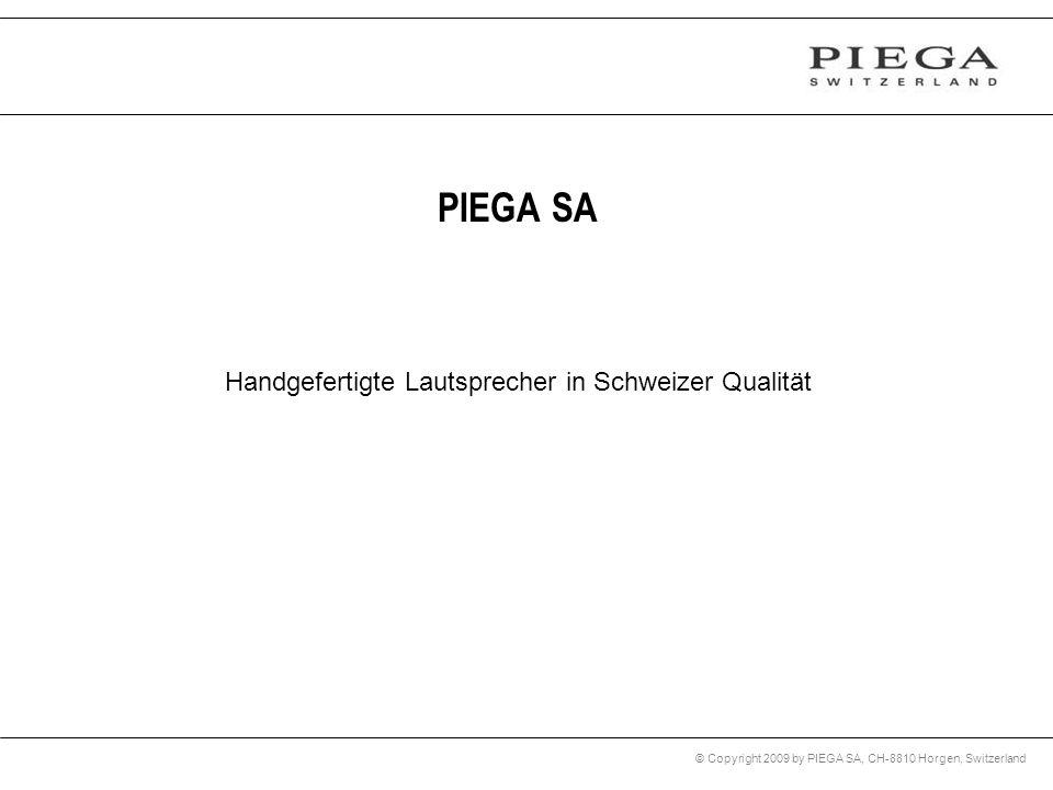 Handgefertigte Lautsprecher in Schweizer Qualität