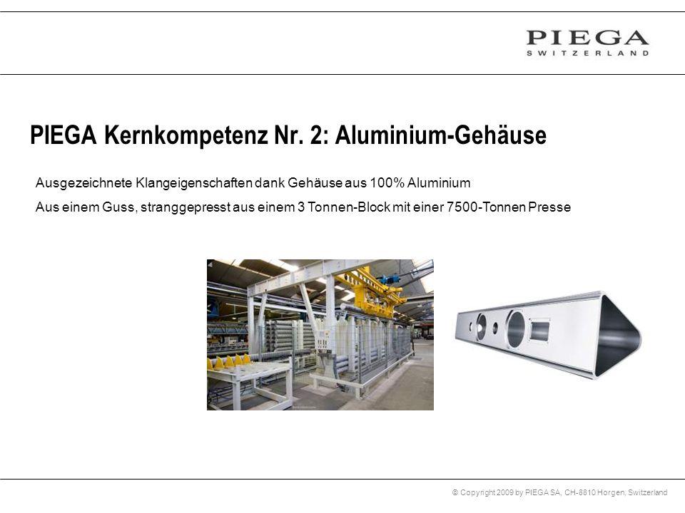 PIEGA Kernkompetenz Nr. 2: Aluminium-Gehäuse