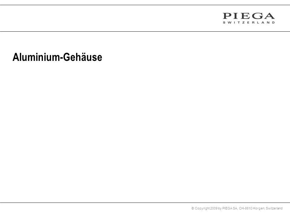 Aluminium-Gehäuse