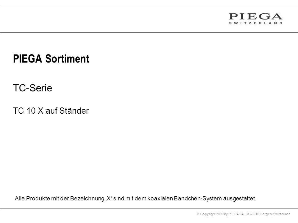 PIEGA Sortiment TC-Serie TC 10 X auf Ständer