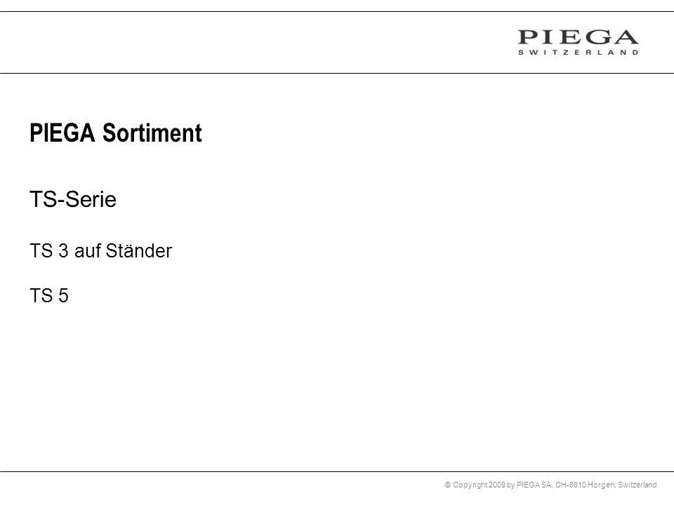 PIEGA Sortiment TS-Serie TS 3 auf Ständer TS 5