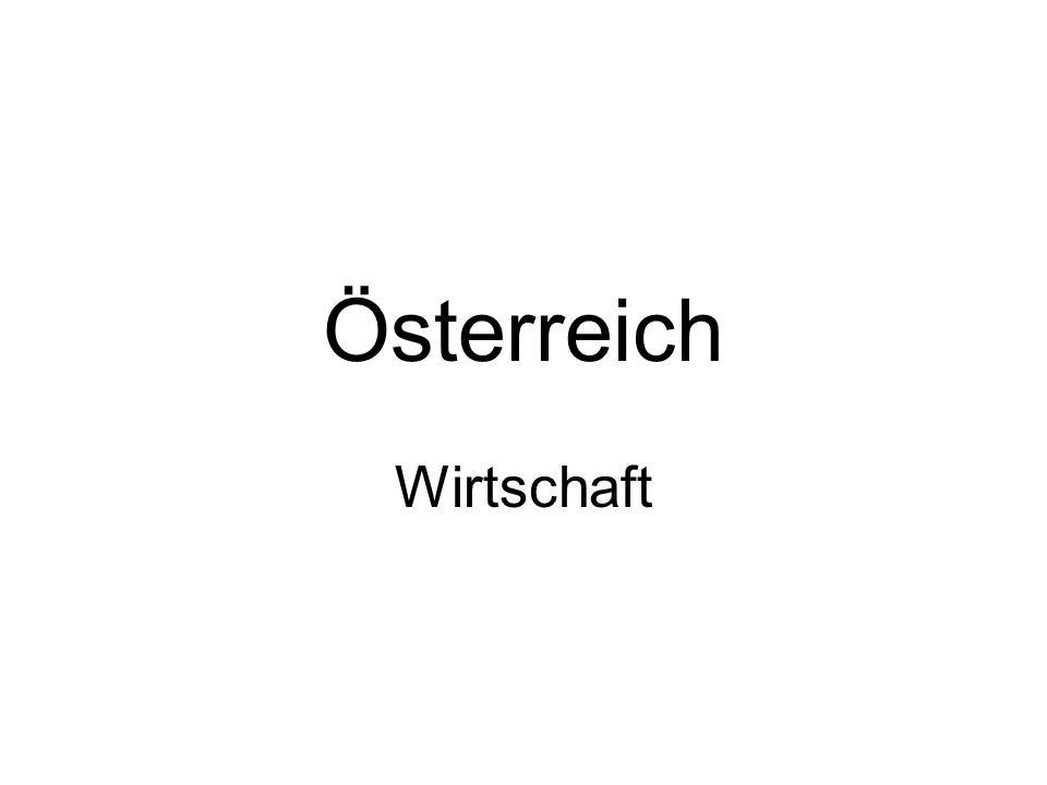 Österreich Wirtschaft
