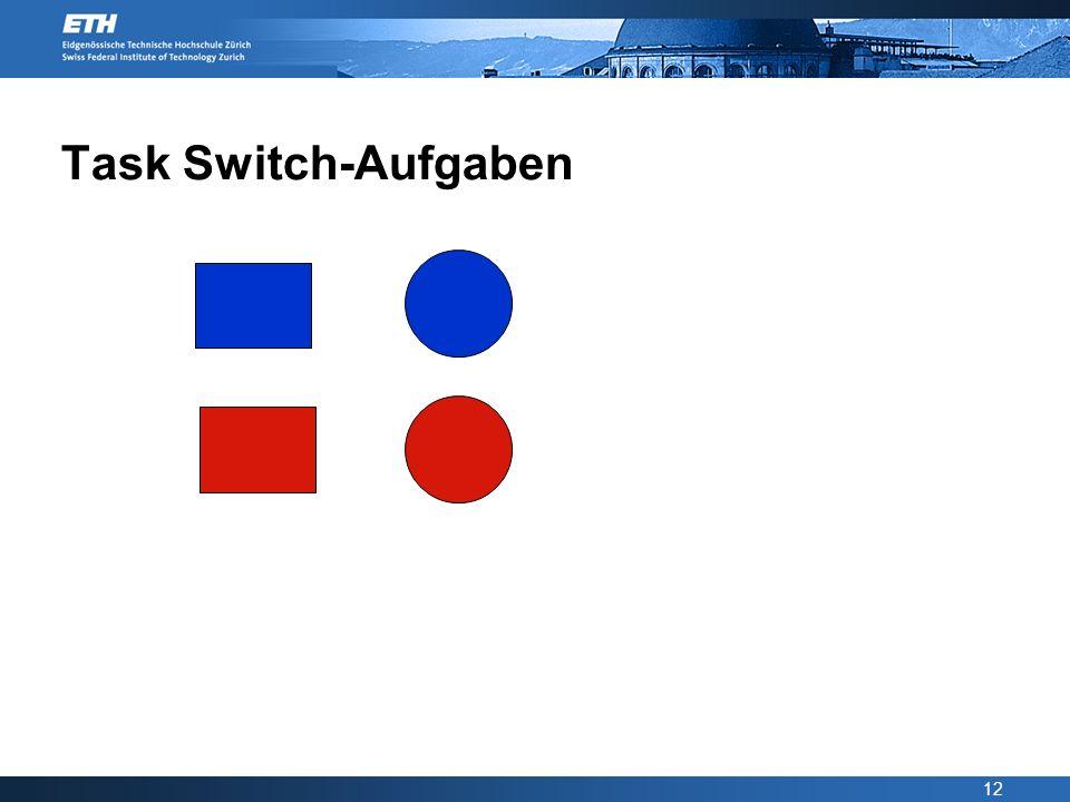 Task Switch-Aufgaben