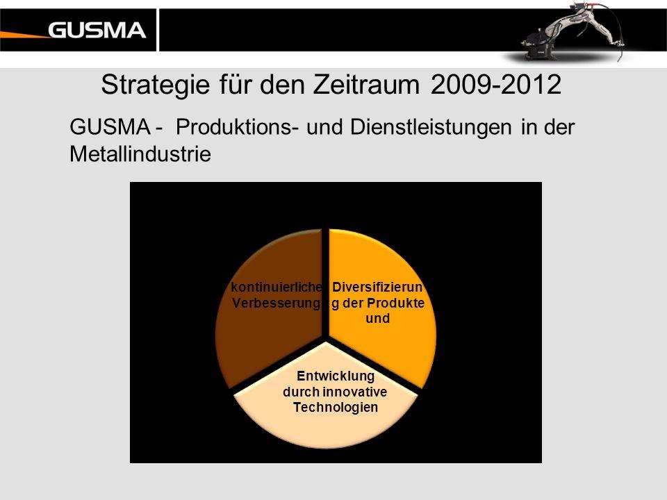 Strategie für den Zeitraum 2009-2012