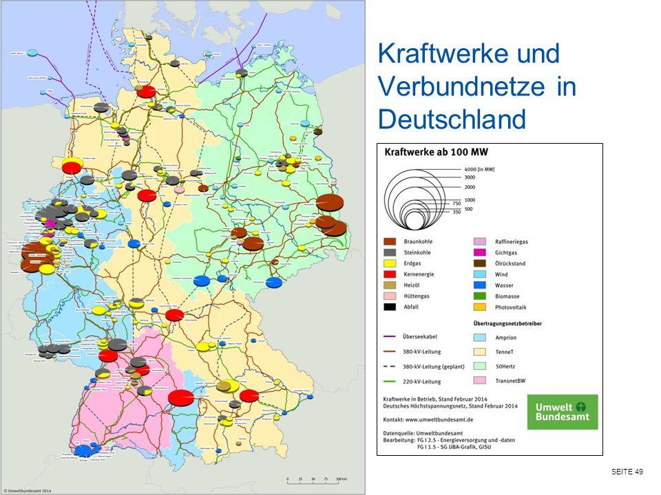 Kraftwerke und Verbundnetze in Deutschland