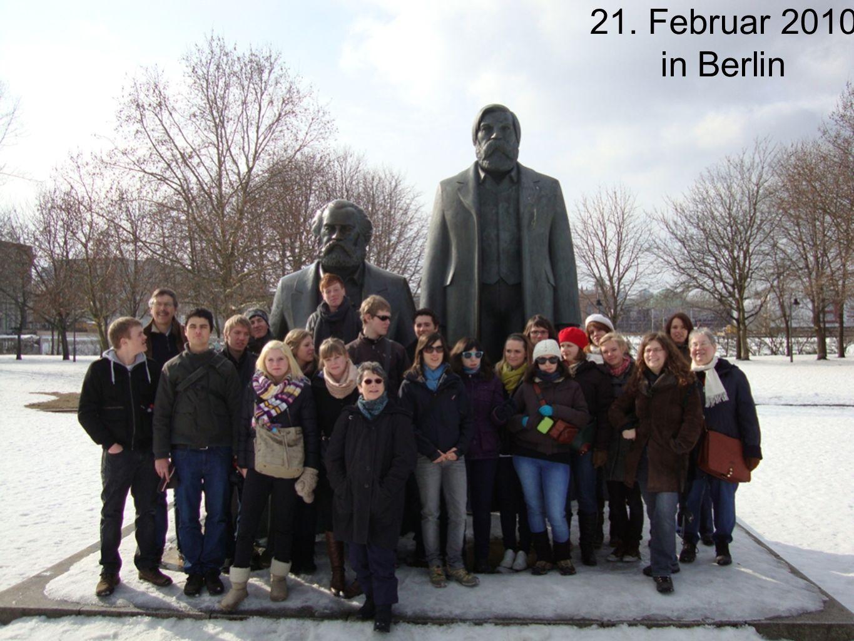 21. Februar 2010 in Berlin