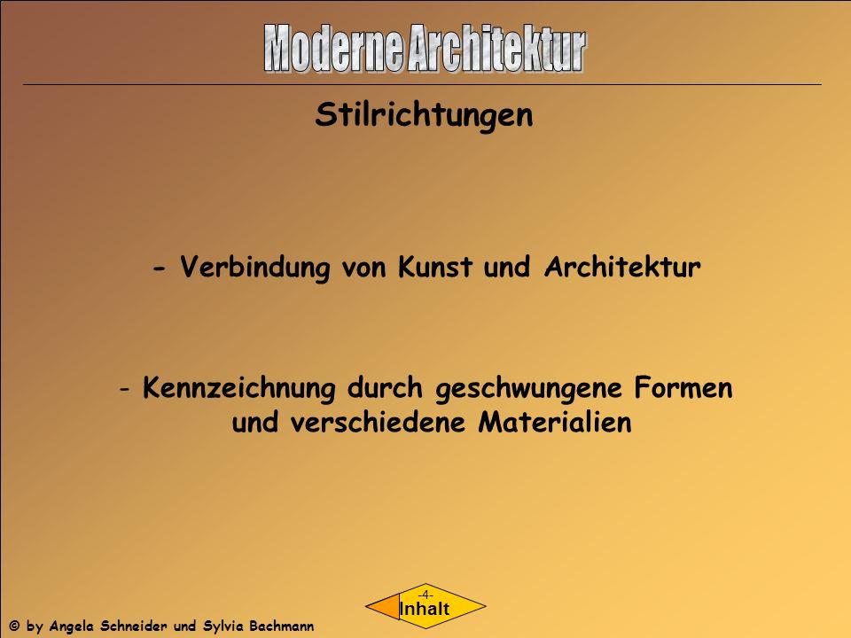Moderne Architektur Stilrichtungen