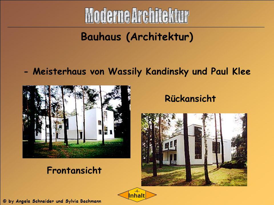Moderne architektur moderne architektur ppt herunterladen for Bauhaus architektur