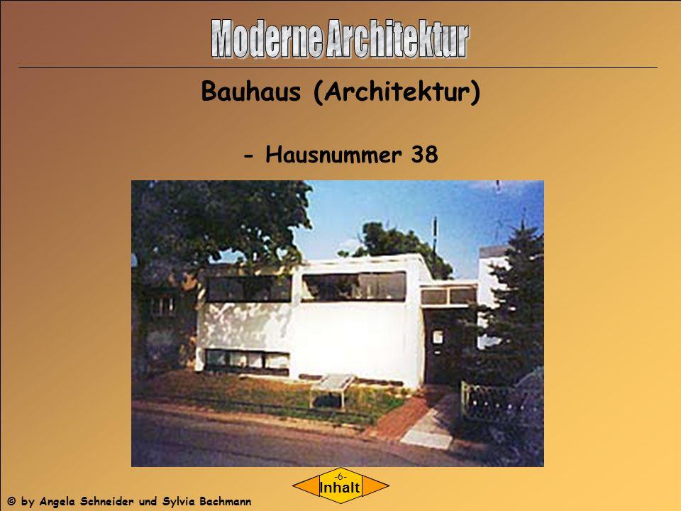 Bauhaus (Architektur)