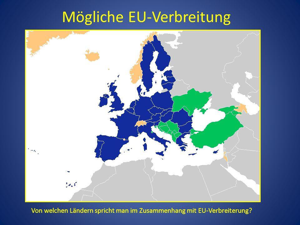 Mögliche EU-Verbreitung