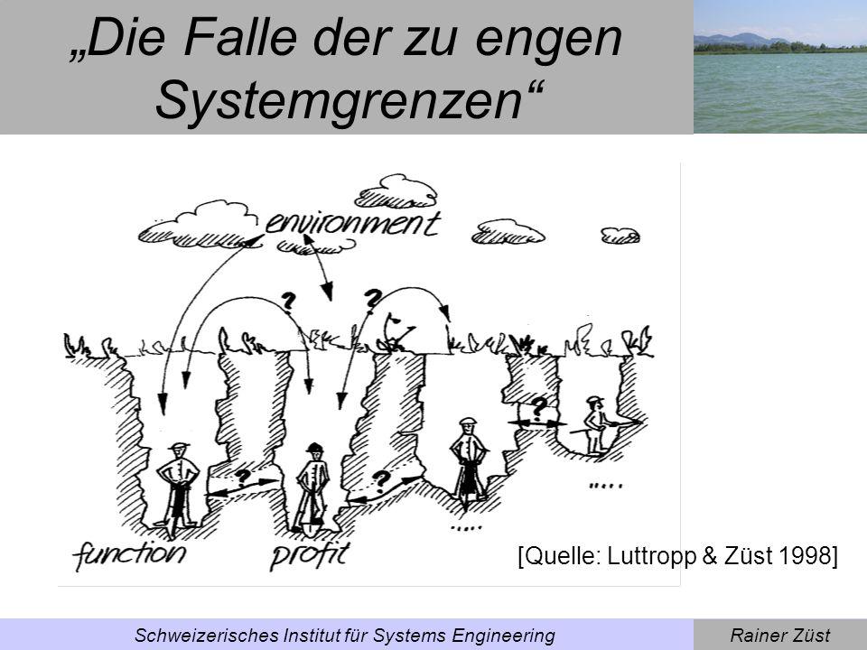 """""""Die Falle der zu engen Systemgrenzen"""