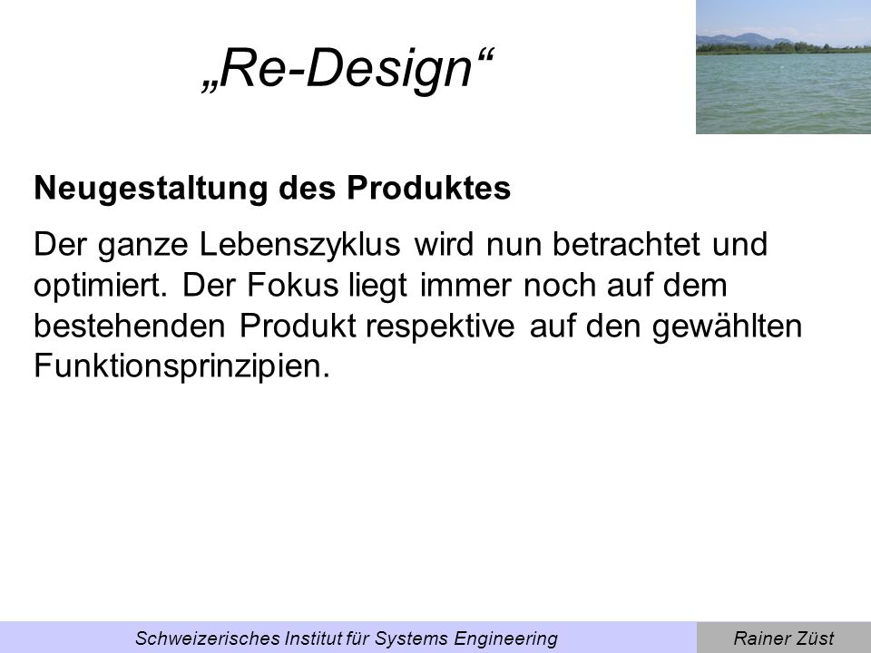 Schweizerisches Institut für Systems Engineering