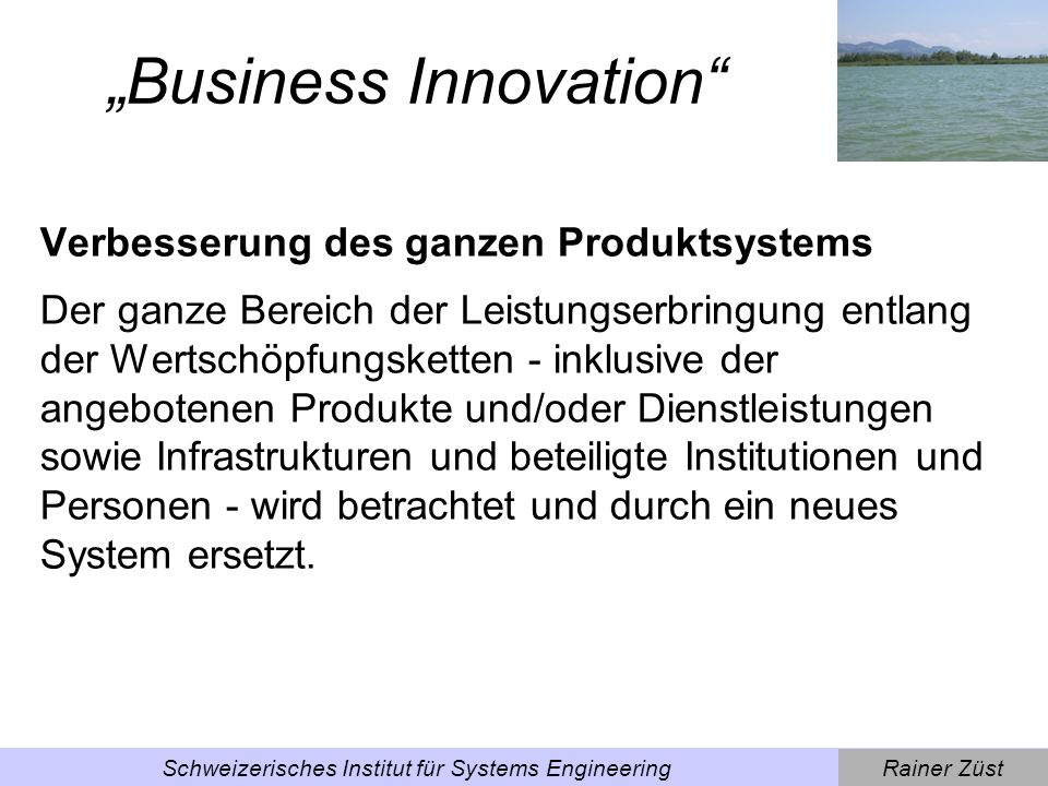 """Business Innovation"