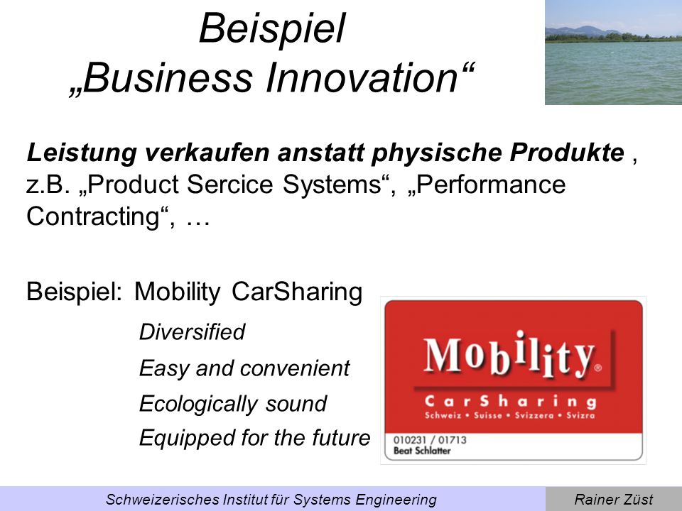 "Beispiel ""Business Innovation"