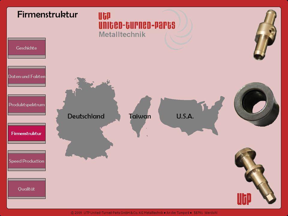 Firmenstruktur Deutschland Taiwan U.S.A. Geschichte Daten und Fakten