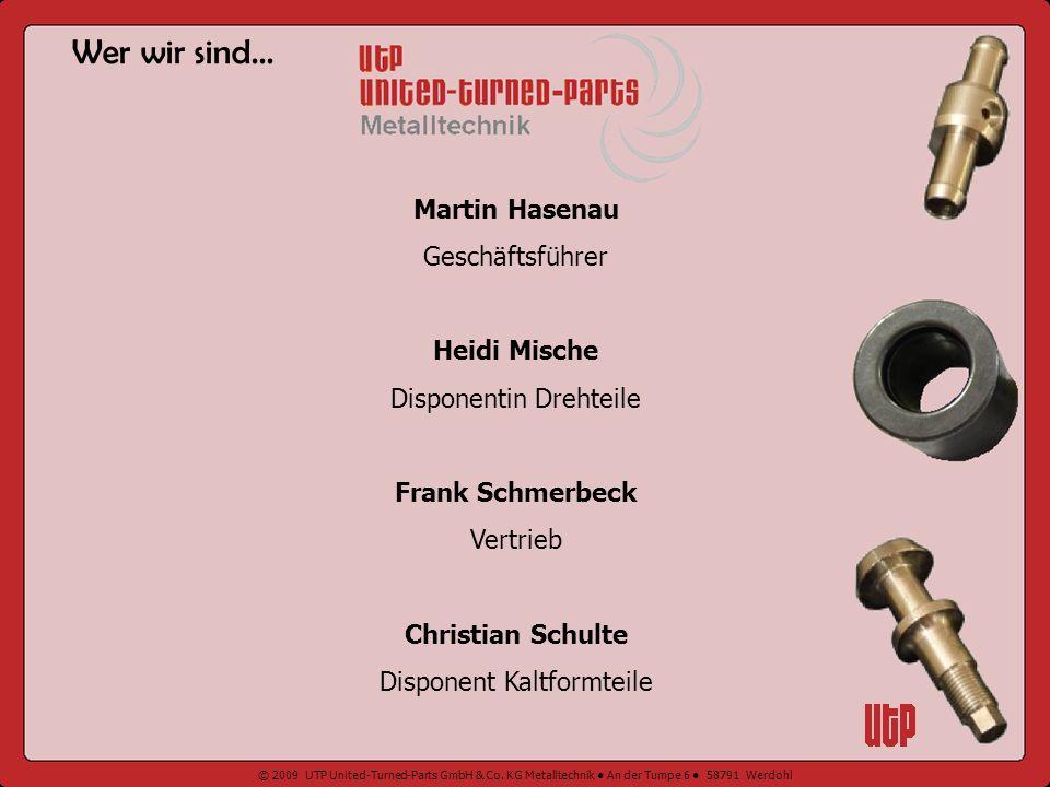 Wer wir sind... Martin Hasenau Geschäftsführer Heidi Mische