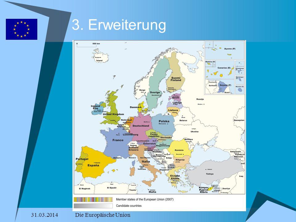 3. Erweiterung 28.03.2017 Die Europäische Union