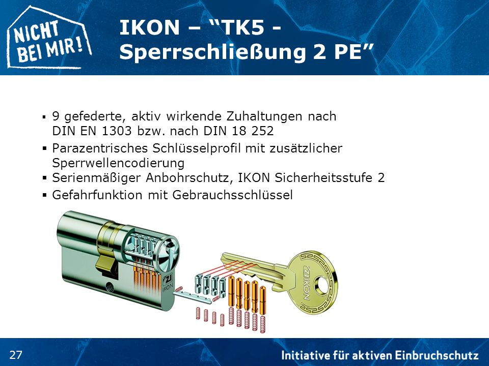 IKON – TK5 - Sperrschließung 2 PE