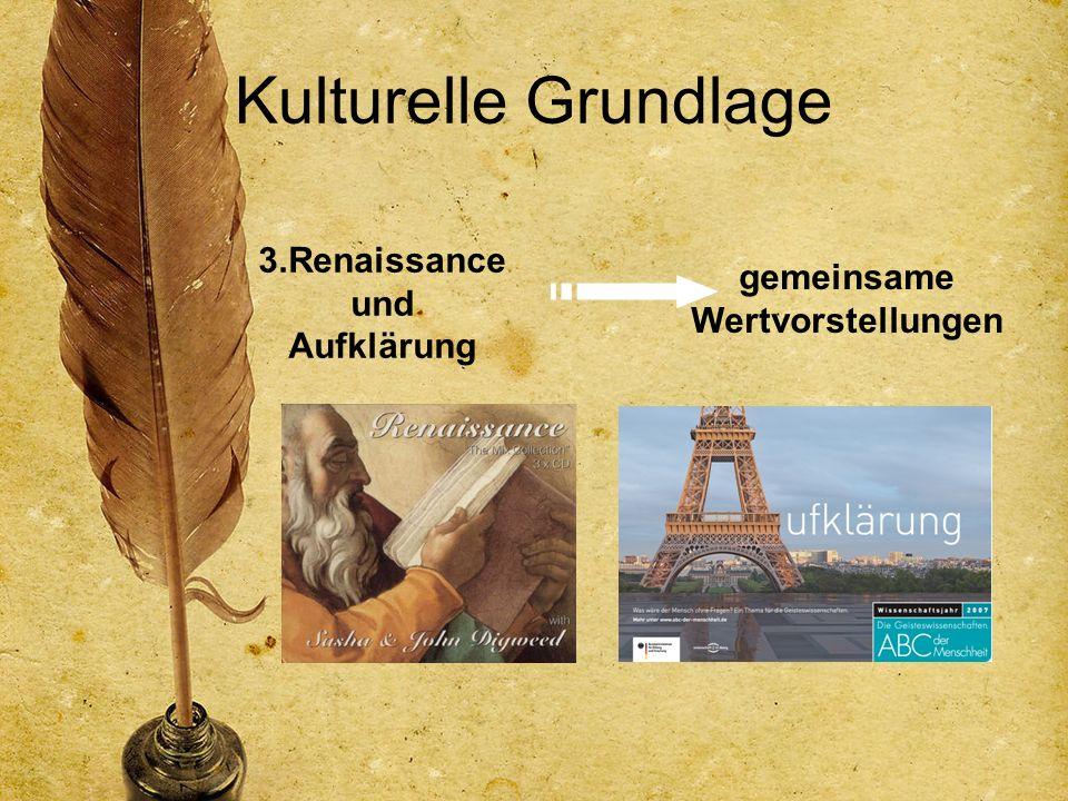 3.Renaissance und Aufklärung gemeinsame Wertvorstellungen