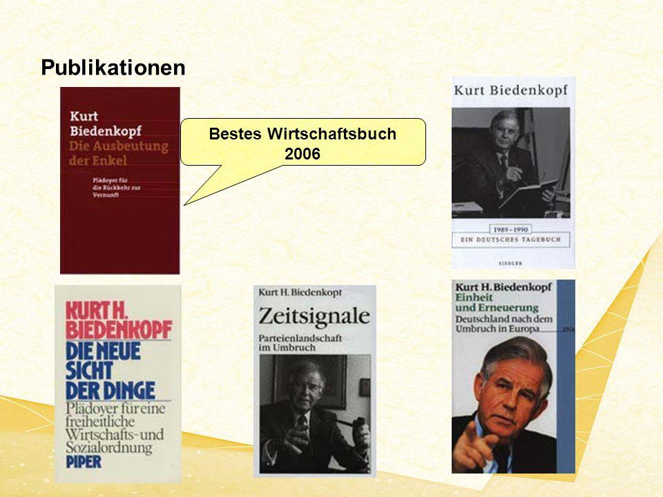 Bestes Wirtschaftsbuch 2006