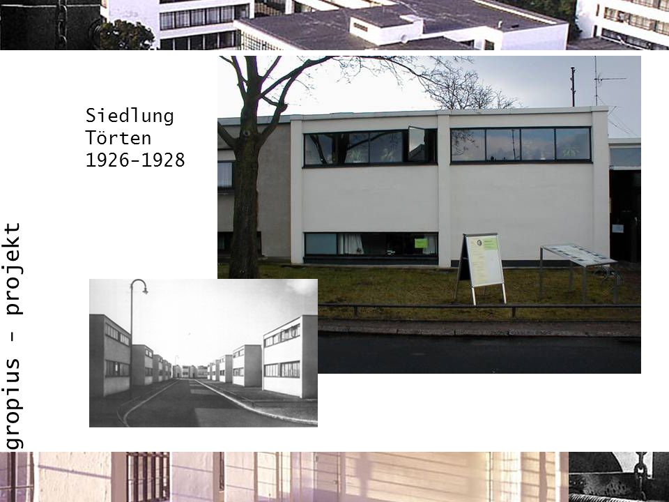 Siedlung Törten 1926-1928