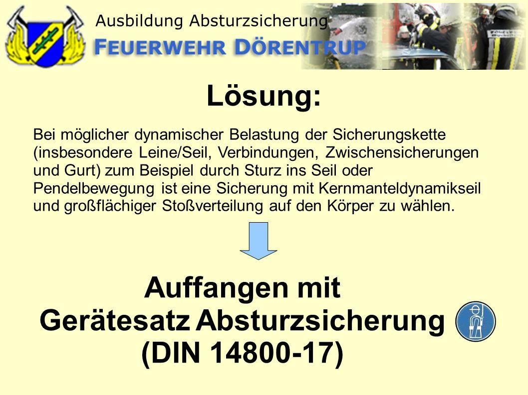 Gerätesatz Absturzsicherung (DIN 14800-17)