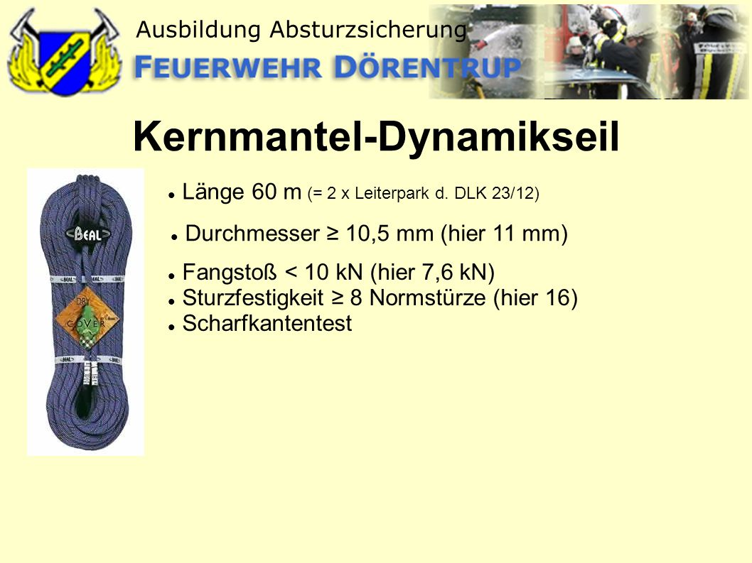 Kernmantel-Dynamikseil