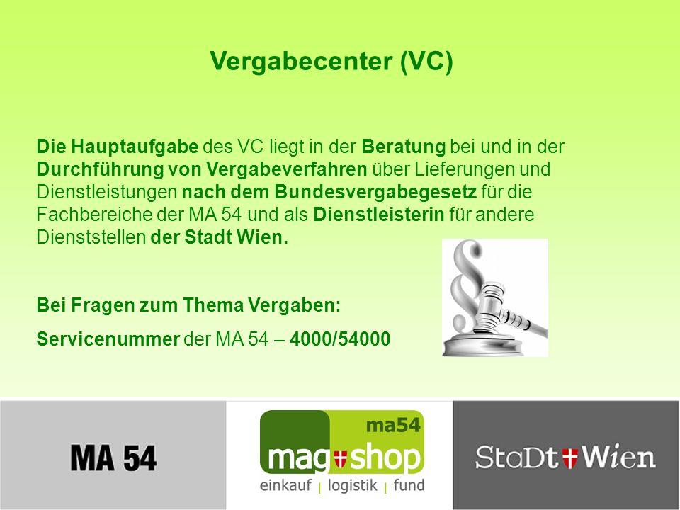 Vergabecenter (VC)