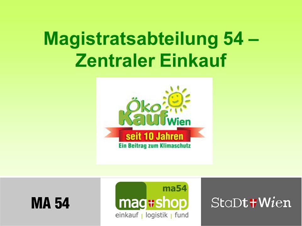 Magistratsabteilung 54 – Zentraler Einkauf