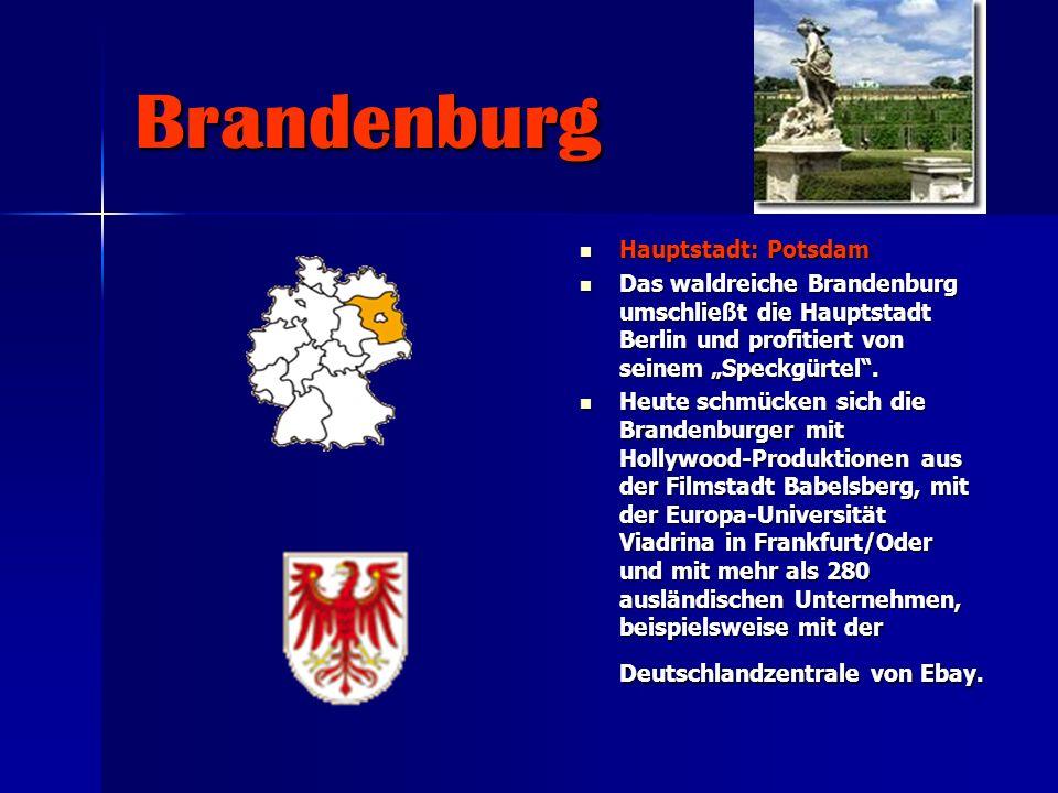 Brandenburg Hauptstadt: Potsdam