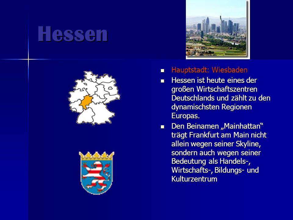 Hessen Hauptstadt: Wiesbaden