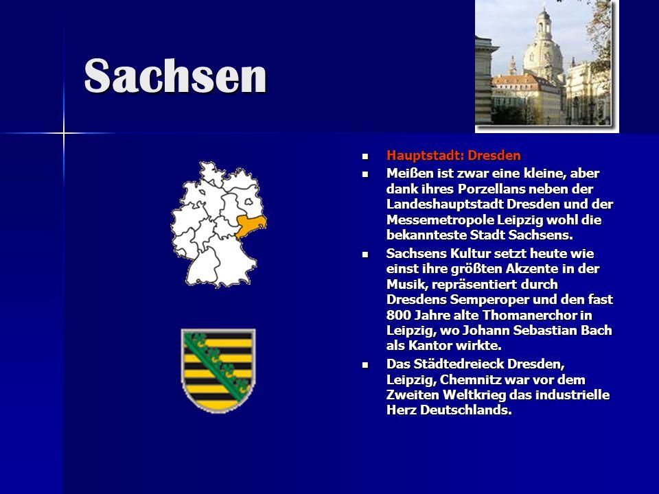 Sachsen Hauptstadt: Dresden