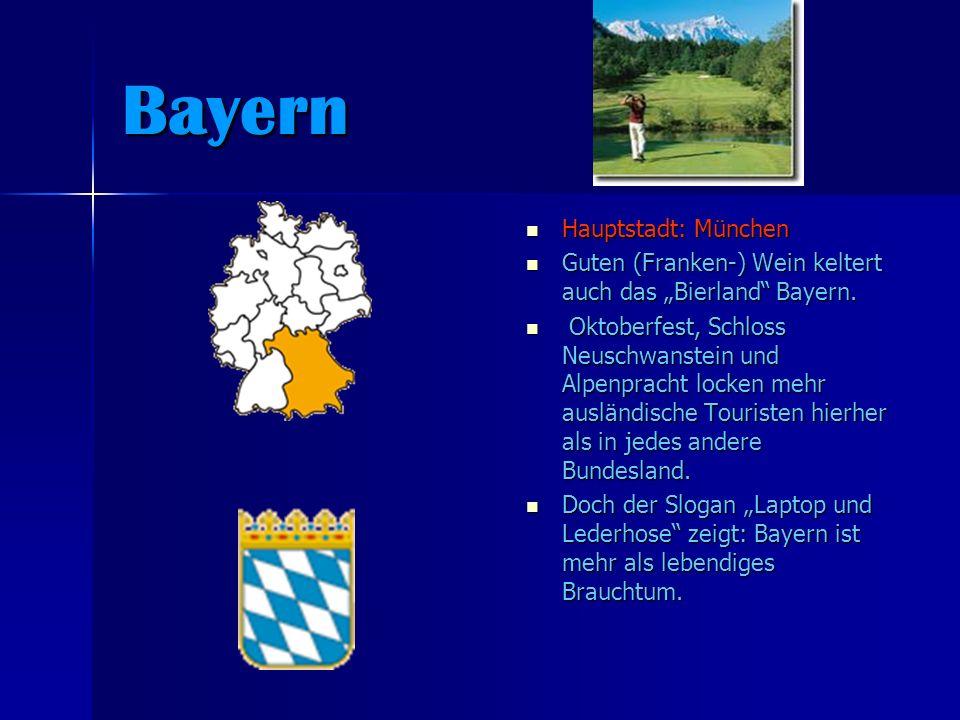 Bayern Hauptstadt: München