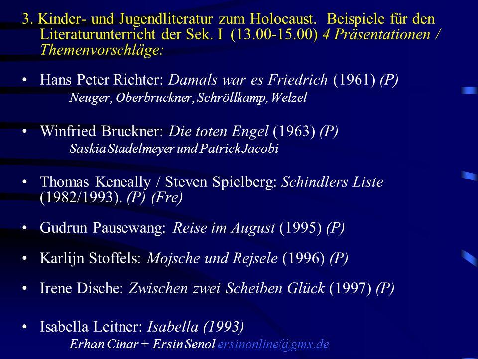 Hans Peter Richter: Damals war es Friedrich (1961) (P)