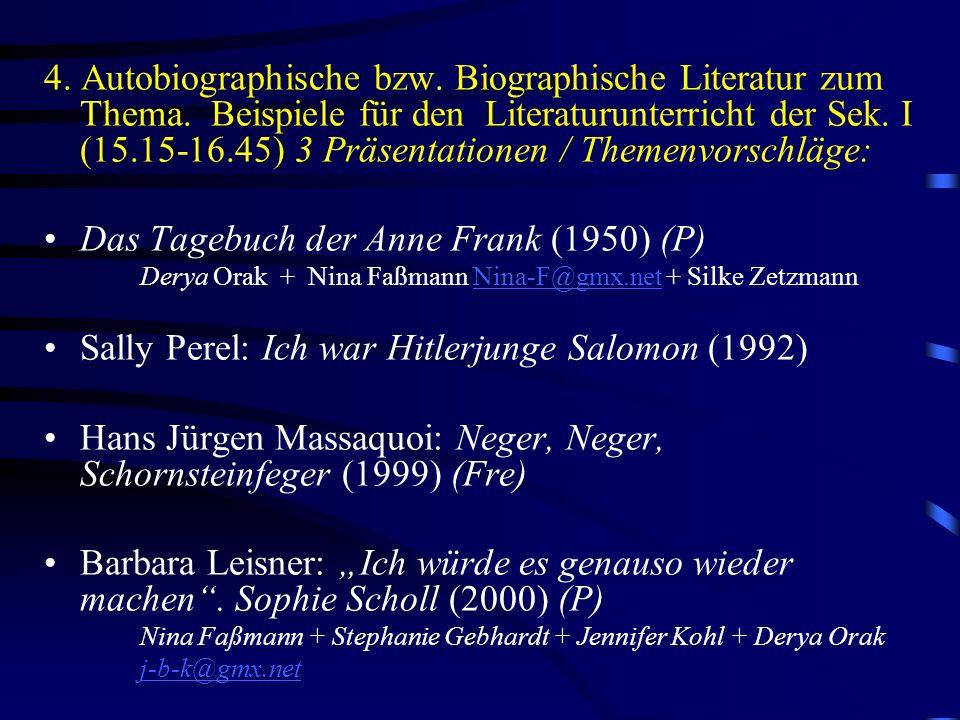 Das Tagebuch der Anne Frank (1950) (P)