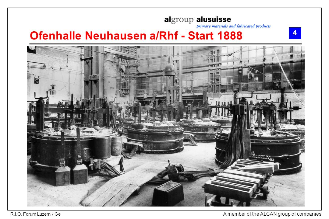 Ofenhalle Neuhausen a/Rhf - Start 1888