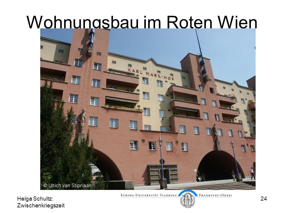 Wohnungsbau im Roten Wien