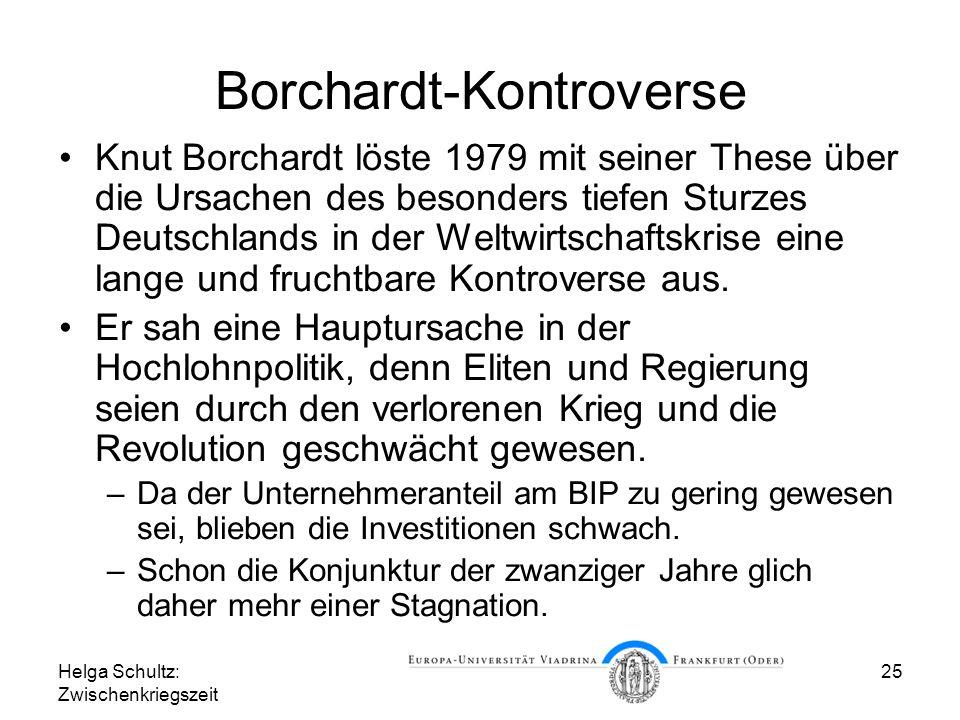 Borchardt-Kontroverse