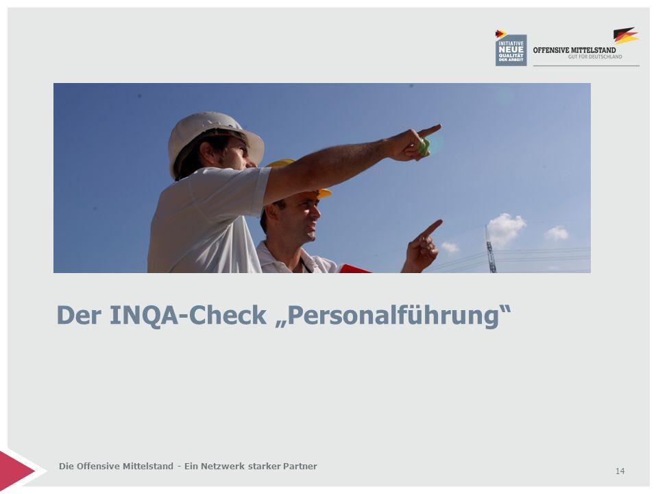 """Der INQA-Check """"Personalführung"""
