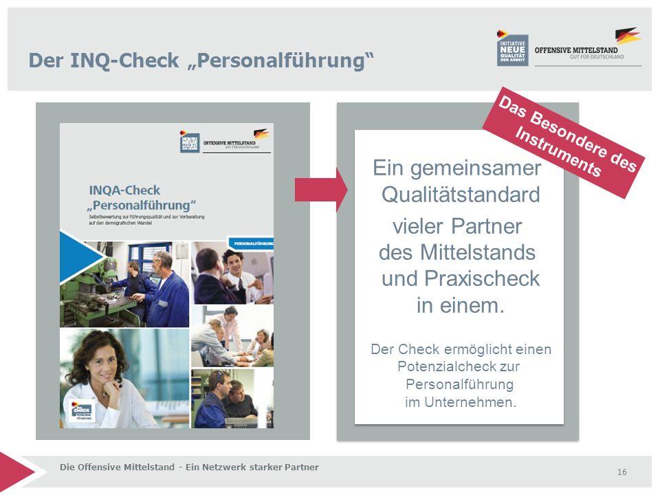 """Der INQ-Check """"Personalführung"""