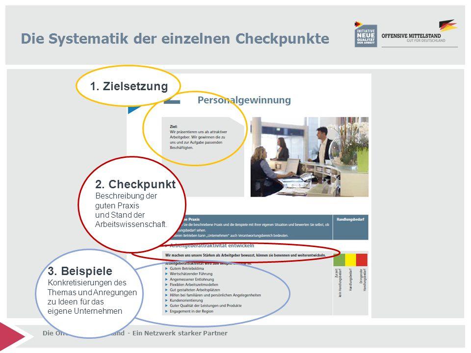Die Systematik der einzelnen Checkpunkte