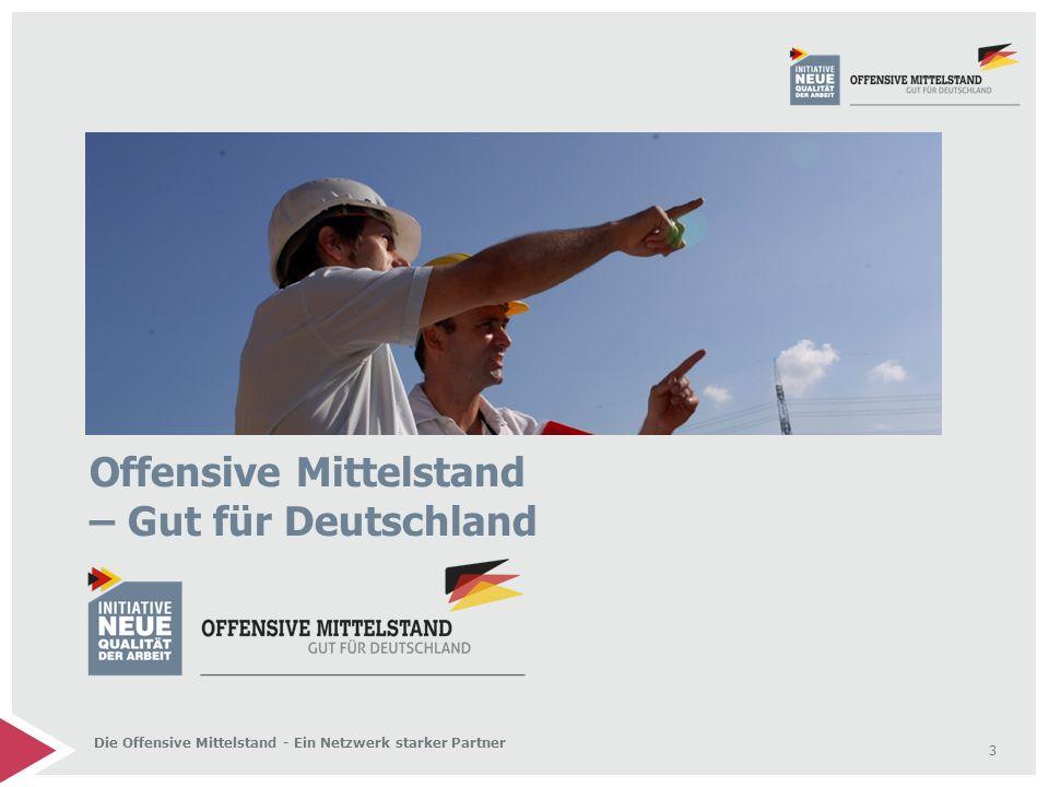 Offensive Mittelstand – Gut für Deutschland