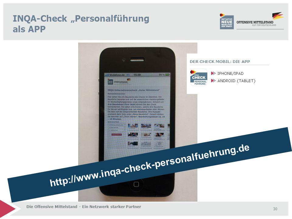 "INQA-Check ""Personalführung als APP"