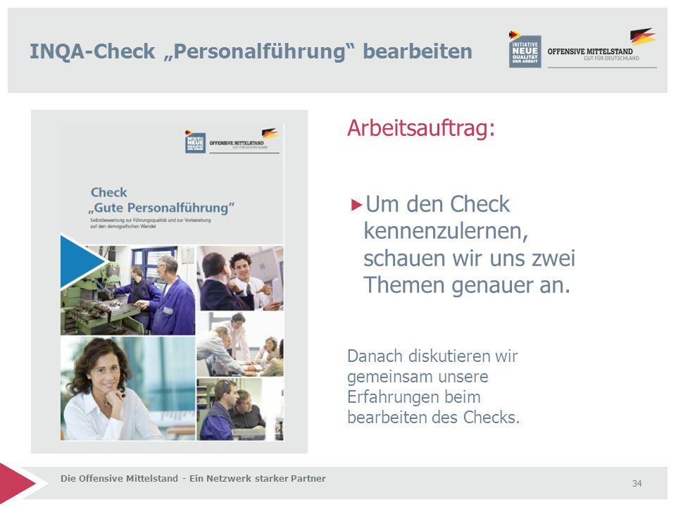 "INQA-Check ""Personalführung bearbeiten"