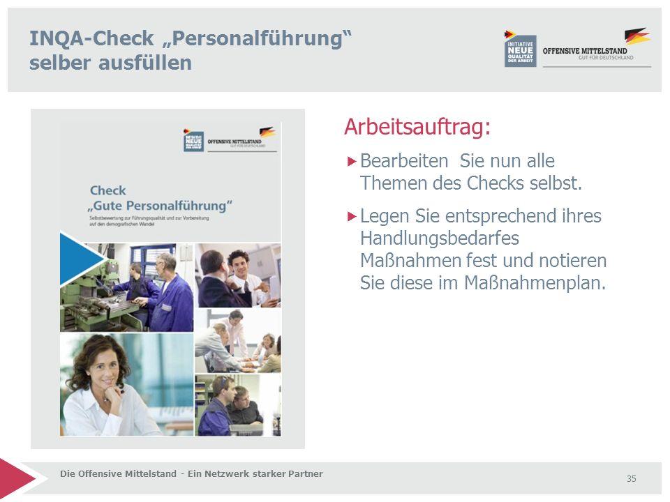 """INQA-Check """"Personalführung selber ausfüllen"""