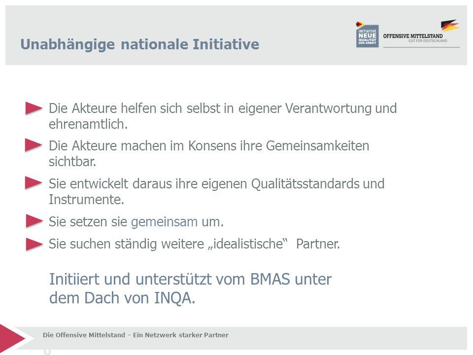 Initiiert und unterstützt vom BMAS unter dem Dach von INQA.