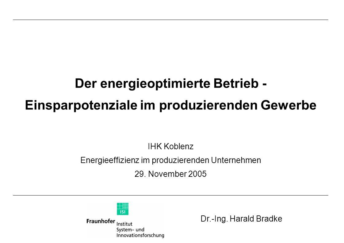 Der energieoptimierte Betrieb -
