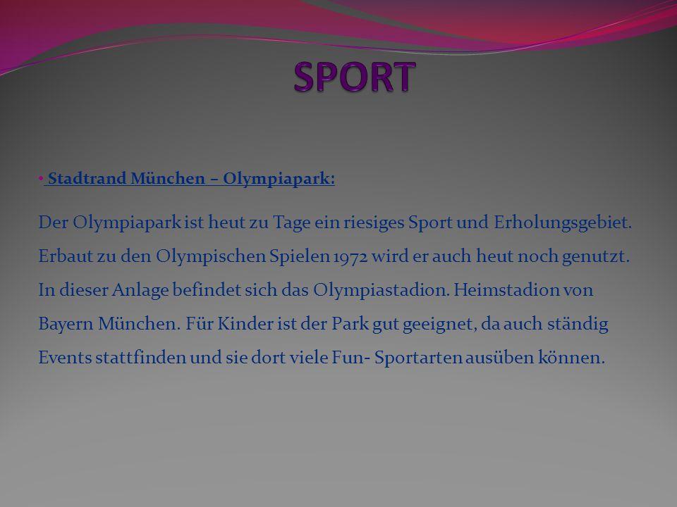 SPORT Stadtrand München – Olympiapark: