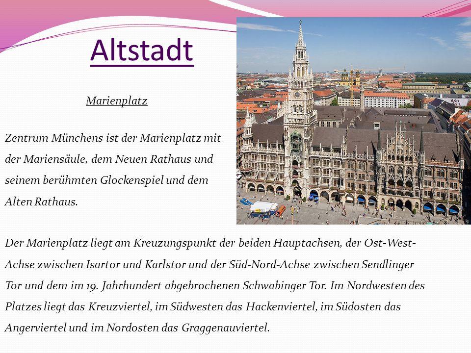 Altstadt Marienplatz.